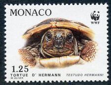 STAMP / TIMBRE DE MONACO N° 1807 ** FAUNE / LA TORTUE D'HERMANN