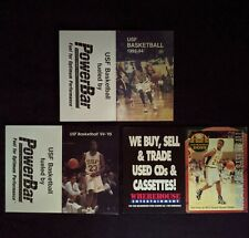 1993 to 1995 University of San Francisco Dons Basketball Schedules - Lot of 3