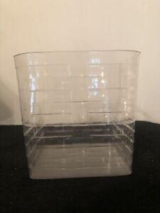 Longaberger Tall Tissue Basket Protector