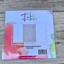 Tutti Designs Dotted Nesting Rectangles TUTTI - 414