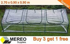 Greenhouse / hothouse shed 2.7m x 0.9m x 0.9m - Special - 4 for $177 ONLY