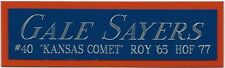 GALE SAYERS CHICAGO BEARS NAMEPLATE FOR YOUR AUTOGRAPHED Signed FOOTBALL JERSEY