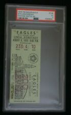 1976 The Eagles W/ Linda Ronstadt Kingdome Concert Tour Ticket - Psa 3 Very Good