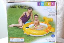 "New Intex 57111Ep Friendly Goldfish Baby Pool 55"" X 49"" x 13"" Inflatable Fun!"
