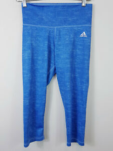 ADIDAS   Womens Climalite Capri Tights As new [ Size S or AU 8 - 10 ]
