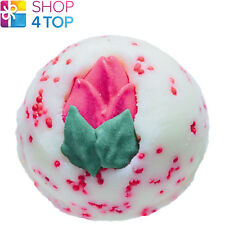 Bloomin' Lovely Bath Creamer Bomb Cosmetics Fruity Floral Rose Handmade Natural