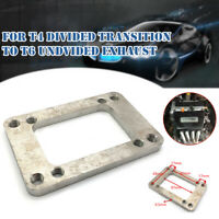 Stainless Steel Turbo Manifold Flange adapter T6 to T4 undivided Exhaust 8 Holes