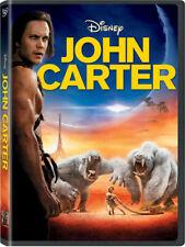 John Carter (DVD, 2012) Taylor Kitsch NEW