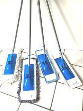Bodenwischer-Set Mikrofaser oder Baumwolle Wischmop Mopp Teleskopstiel 140cm