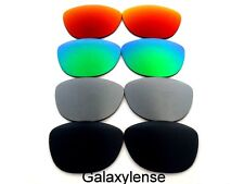 Galaxie rechange lentilles pour Oakley Frogskins black&gray&green&red 4 paires