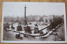 Panoramic Trafalgar Square, from St Martin-in-the-Fields, Horses & carts, 1908