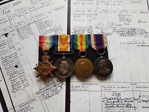 A WW1 Royal  Navy & Royal Fleet Reserve L.S&G.C Medal Group to A.B John Page