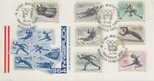 MON79 -  AUSTRIA STAMPS 1964 OLYMPIC INNSBRUCK  COVER