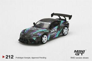 MINI GT 1:64 Toyota GR Supra HKS 2019 SEMA Presentation LHD Car ##