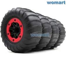 4Stk RC 2.2'' Paddles Tire Reifen Sand Snow Tyre & RC Crawler 2.2 Beadlock Wheel