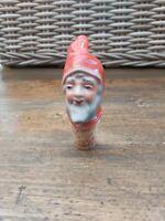 Vintage Ceramic ANRI Bottle CORK STOPPERS