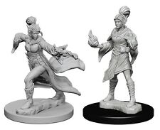 D&D Paizo Deep Cuts Miniatures Elf Female Sorcerer (2)