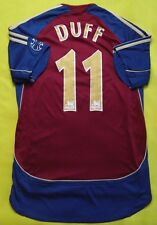 4.5/5 NEWCASTLE UNITED #11 DUFF D2006~2007 AWAY ORIGINAL FOOTBALL SHIRT JERSEY