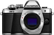 [NEAR MINT] Olympus OM-D E-M10 Mark II 17.2 MP Silver body from JAPAN (N073-2)
