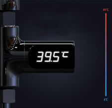 Digital Led Display Water Faucet Cartridges with Thermometer Self-Generating