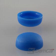 10x Universal Screw Cover Cap Blue ø10mm Countersunk Head Cap
