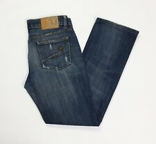 Liu jo jeans donna usato destroyed strappati slim W29 tg 42 43 straight T3493
