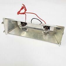 Tested TANDBERG TD-20A Lightbulbs + Meter Housing Reel to Reel Tape Deck Part SE