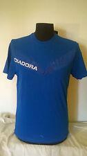 T-shirt uomo DIADORA  in cotone colore bluette molto bella