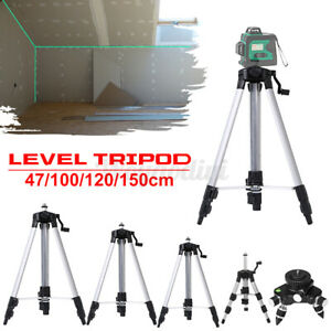 1.2M Aluminum Alloy Laser Level Tripod Adjustable Level Stand For Measuring Tool