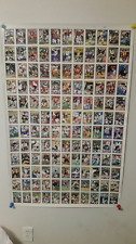 1992 Topps Series1 Football 3-Uncut Sheets 28.5 x 43.5 Total 396 cards