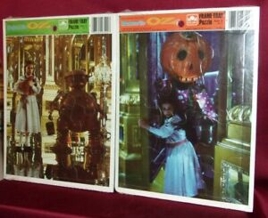 Walt Disney Pictures RETURN TO OZ 1985 Two Frame-Tray Puzzles (Jigsaw) SEALED