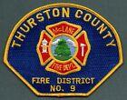 Thurston County McLane Washington Fire Patch