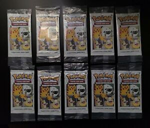 General Mills Pokémon TCG 25th Anniversary Booster Packs (x10) *Ready to Ship*