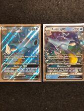 2x Lot Pokemon Dragon Majesty Full Art Ultra Rare Kingdra Gx 66/70 + 18/70 Mint!