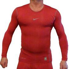 Nike Pro Combat Dri-Fit sous-vêtements Compression / haut ,rouge -