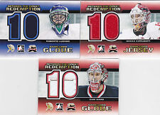 11-12 ITG Cam Ward /10 Between The Pipes Glove Redemption 2012 Expo