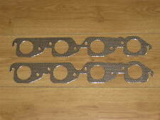 Chevy CHEVROLET 152 V8 Exhaust Manifold Gasket Pair x2