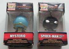 Spider-Man Pocket Pop! Keychain - Mysterio & Spider-Man Stealth Suit - New