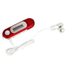 4GB USB 2.0 Reproductor de Musica Mp3 con Radio Fm Grabadora de Voz - Rojo AC