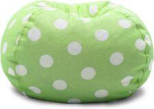 Big Joe Classic Bean Bag Chair, Polka Dot Green/White