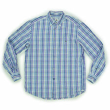 LACOSTE Devanlay Herren Hemd 41 L Langarmhemd kariert Men Shirt Oberteil wie NEU