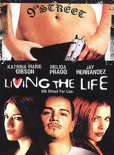 LIVING THE  LIFE, rare chola gangster chicano dvd BRAND NEW