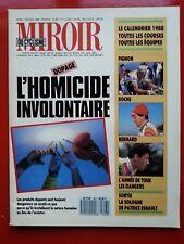 1988 miroir du cyclisme n°403 LE DOPAGE LE CALENDRIER LES COURSES LES EQUIPES