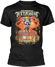 TESTAMENT The Bay Strikes Back Europe Tour 2020 T-SHIRT OFFICIAL MERCHANDISE