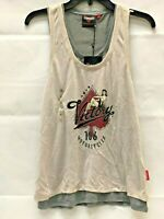 Victory Motorcycle Ladies Ace Layered Tank Top Small