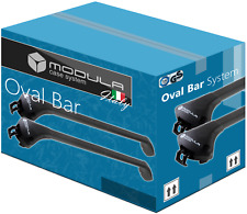 Barres de Toit pour BMW X5 F15 14-18 avec barres longitudinales fermées Alu