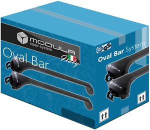 Barres de Toit pour BMW X1 F48 15- avec barres longitudinales fermées Alu