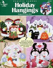 Holiday Hangings ~ 7 Projects, Annie's plastic canvas pattern booklet