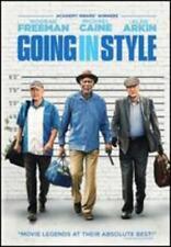 Going in Style (dvd 2017) Morgan Freeman Michael Caine Alan Arkin