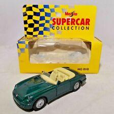 MAISTO - SUPER CAR COLLECTION - 1:37 DIECAST - MG RV8 - BOXED